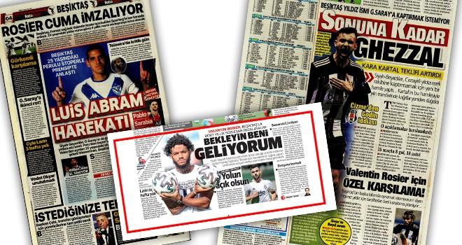 Günün Beşiktaş manşetleri (21 Temmuz)