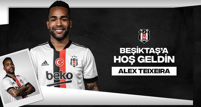 Beşiktaş ile Alex Teixeira'da mutlu son