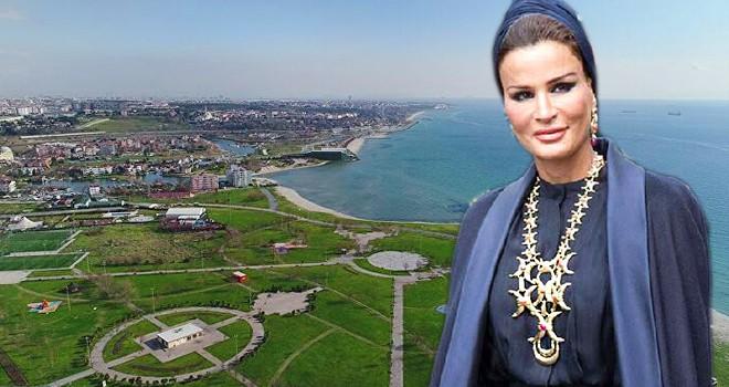 Kanal İstanbul çevresindeki Katar Emiri'nin annesinin arsasına turizm ve ticaret alanı