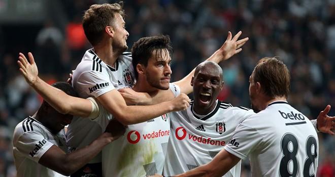 Beşiktaş - Galatasaray maç sonucu: 1-0