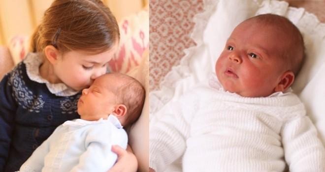 Saray Prens'in ilk fotoğraflarını yayınladı