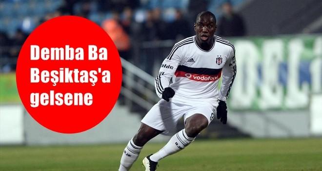 Taraftar Demba Ba'yı istiyor