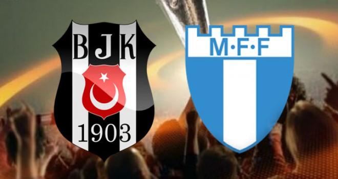 Beşiktaş:0 - Malmö:2