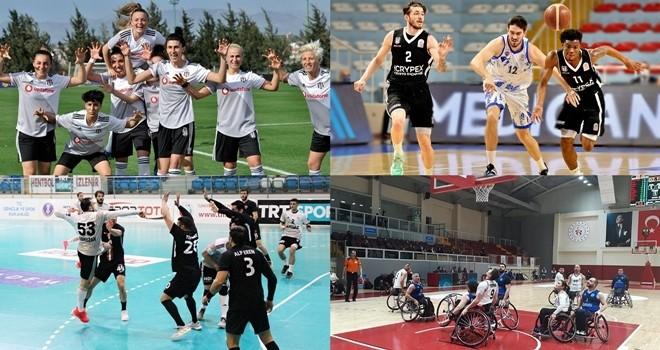 Dev uygulama! Beşiktaş Medya Grup sporun her dalına kucak açtı!