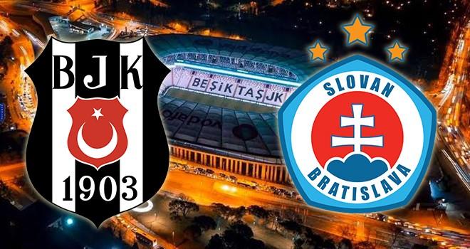 Beşiktaş - S. Bratislava karşı karşıya