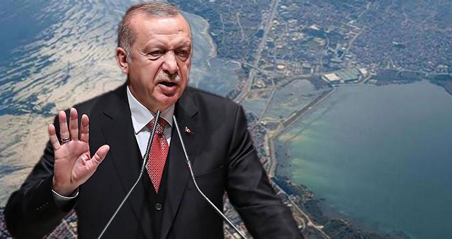 Erdoğan'dan Kanal İstanbul'un son görüntüleri