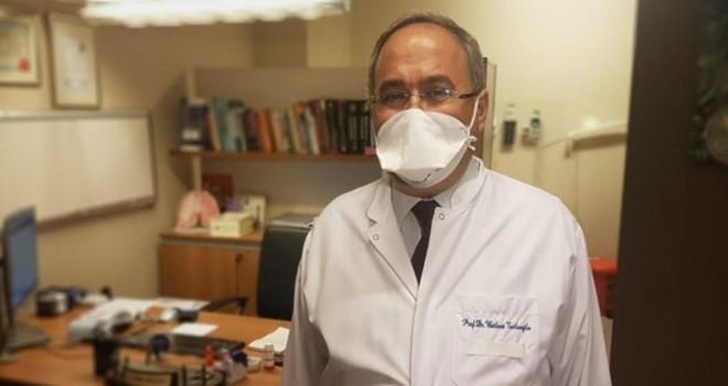Korona'yı yenen profesörden maske uyarısı