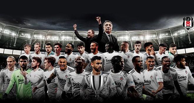 Beşiktaş'ın Türkiye Kupası'nda 10. Şampiyonluğu