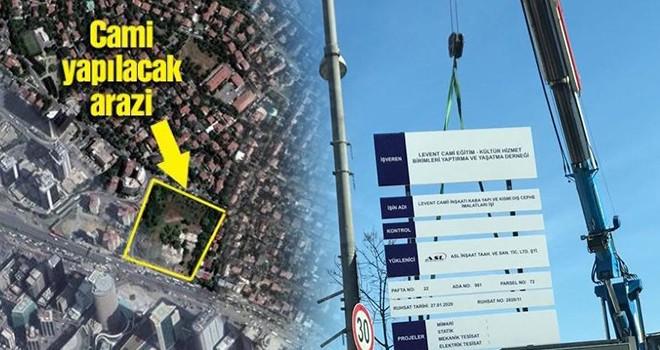 Merkez Bankası'nın Levent'teki milyarlık arsasına cami inşaatı