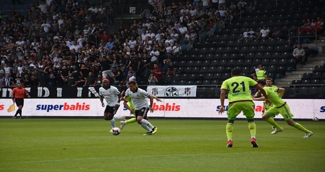 Beşiktaş'ın kötü provası