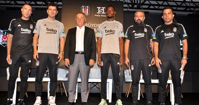 Beşiktaş'a gönül verenler, Help Steps ile destek olacak