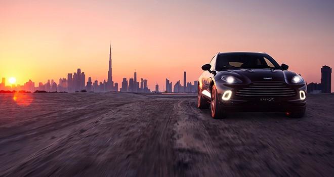 Aston Martin tarihinin ilk SUV aracı Türkiye'de
