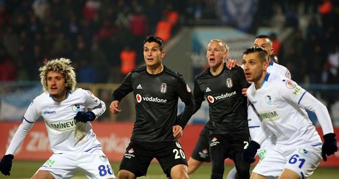Erzurumspor - Beşiktaş maç sonucu: 3-2