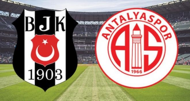 Beşiktaş deplasmanda Antalyaspor'la karşılaşacak