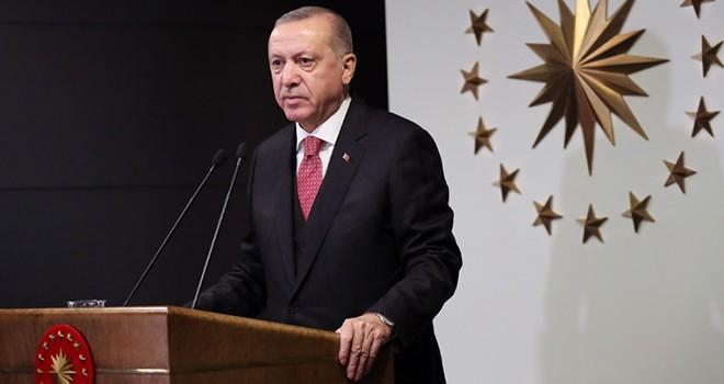 Cumhurbaşkanı Erdoğan, Milli Dayanışma Kampanyası'nı başlattı