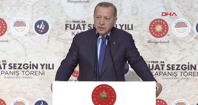 Erdoğan ağır konuştu, dikili ağaçı söken zihniyetsiniz
