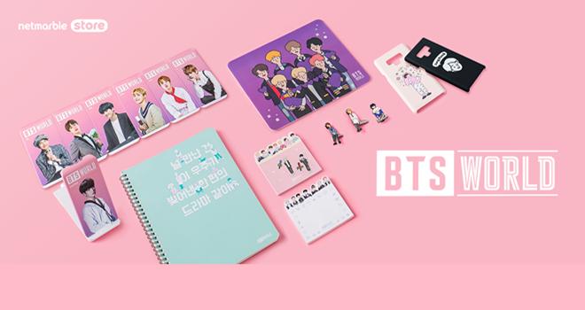 BTS WORLD'ün yeni ürün koleksiyonu Netmarble Store'da
