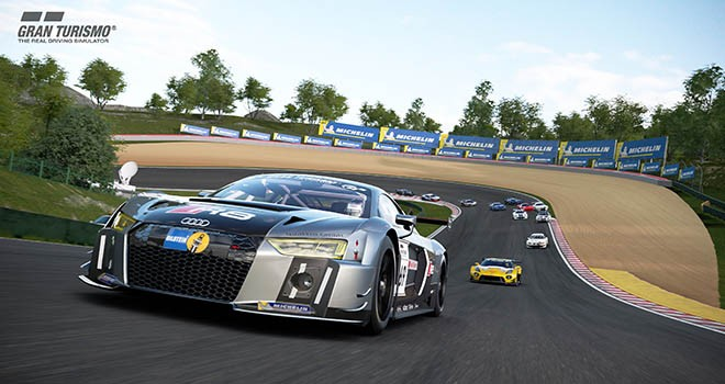 Gran Turismo Sport'ta lastikler Michelin'den