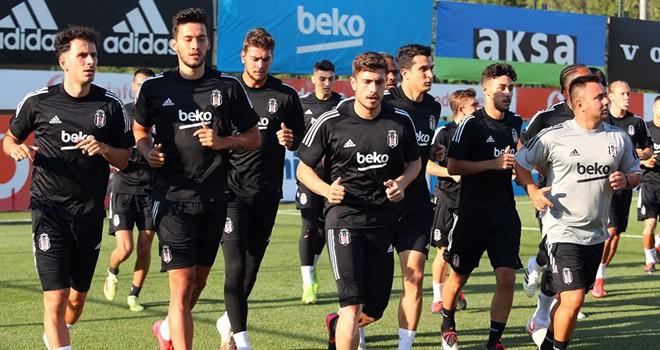 Beşiktaş'ta 2020-21 sezonu hazırlıkları başladı