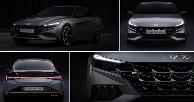 Hyundai yeni Elantra N Line ile daha fazla dinamizm
