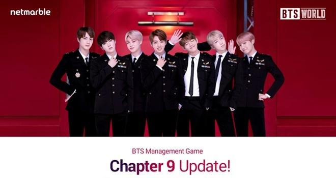BTS WORLD'e yeni bir hikaye ve kart seti geliyor