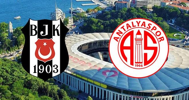 Beşiktaş - Antalyaspor maçının muhtemel 11'leri