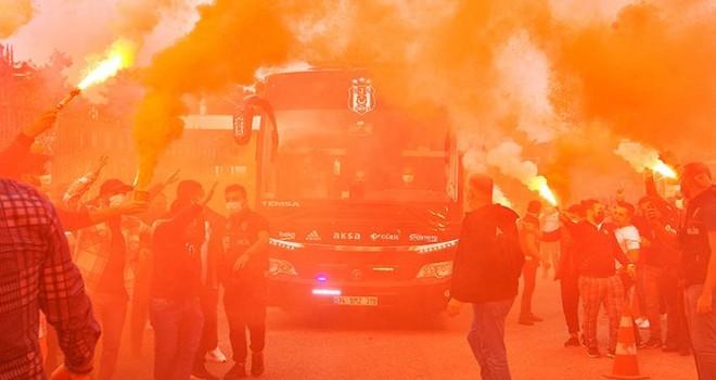Taraftardan Beşiktaş'a tam destek