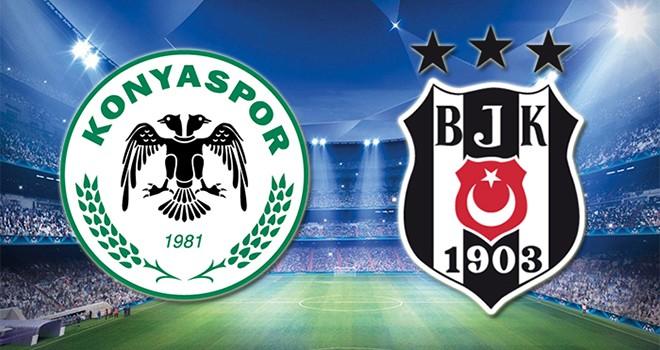 Konyaspor - Beşiktaş karşı karşıya