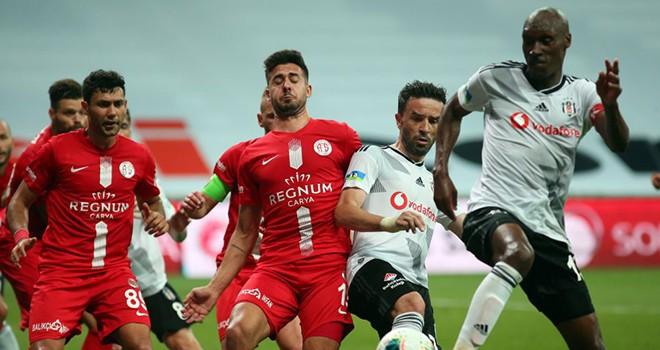 Beşiktaş-Antalyaspor: 1-2