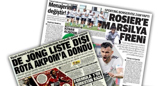 Günün Beşiktaş manşetleri (19 Temmuz)