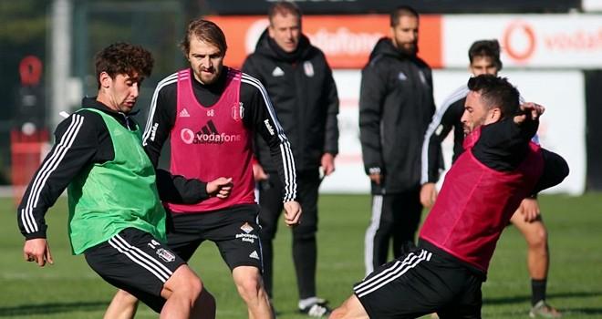 Beşiktaş, Kasımpaşa maçına hazırlanıyor