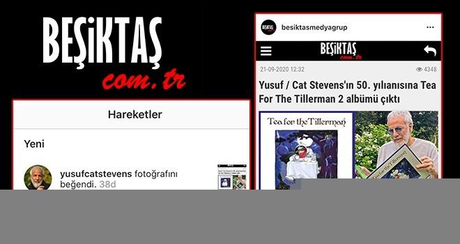 Dünya yıldızından Beşiktaş Medya Grup'a beğeni