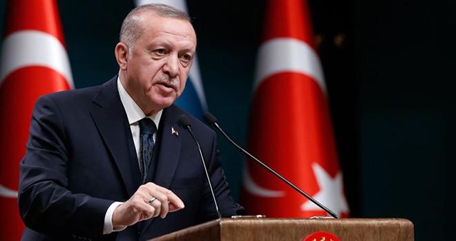 Erdoğan: İnsanlığın umudu olan tüm kadınlarımızın, 8 Mart Dünya Kadınlar Günü'nü kutluyorum