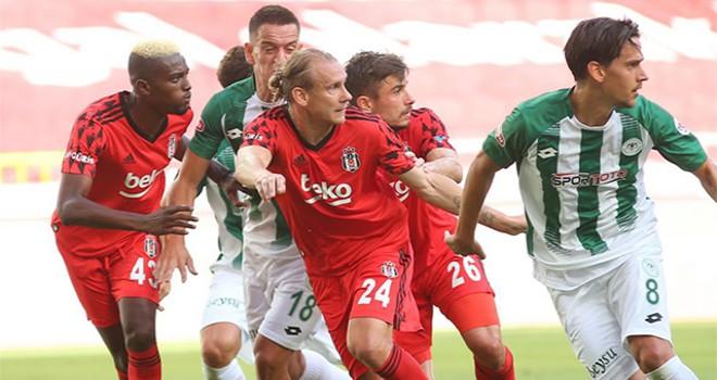 Konyaspor - Beşiktaş: 4-1