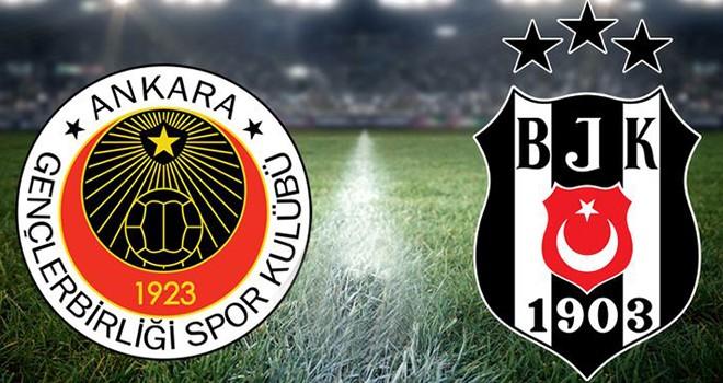 Gençlerbirliği - Beşiktaş muhtemel 11'leri