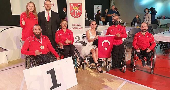 Milli Sporcu Barış Bayraktar'dan Avrupa şampiyonluğu