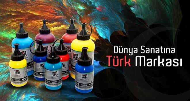 500 yıllık Türk Resim Sanatı'na Türk markası Colortone