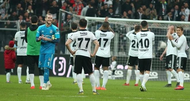 Beşiktaş 1 golle 3 puanı aldı