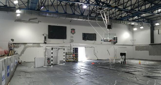 Süleyman Seba Spor Salonu yenileniyor