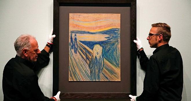 Edvard Munch'un tablosu 120 milyon dolara satıldı