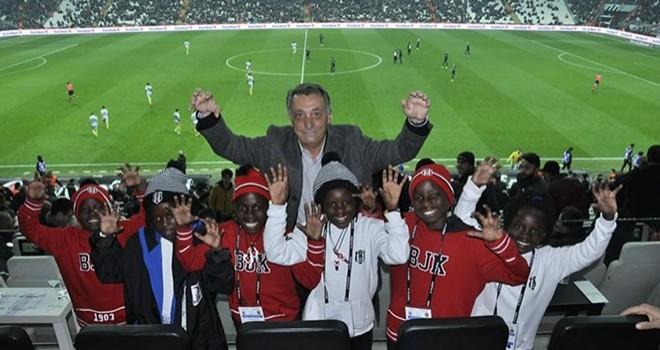 Başkan Çebi, Masaka Kids Dans Topluluğu ile buluştu