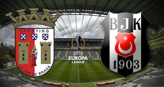 Braga - Beşiktaş karşı karşıya