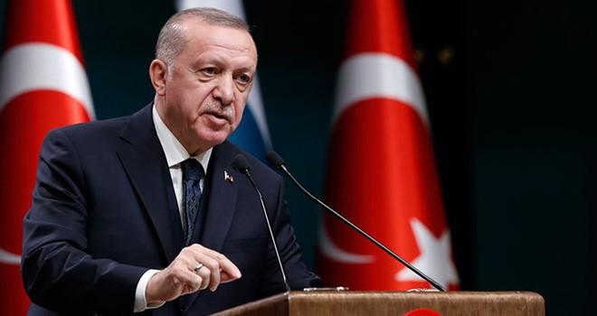 Cumhurbaşkanı Erdoğan Macron'a sert tepki gösterdi