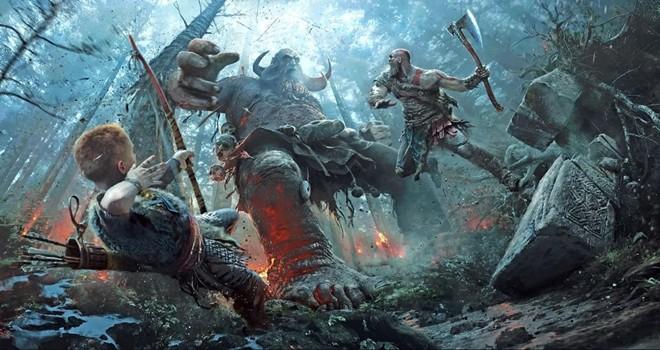 God of War'ın muhteşem sanat dünyası