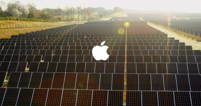 Apple yenilebilir enerji üretiminde yine hız kesmedi