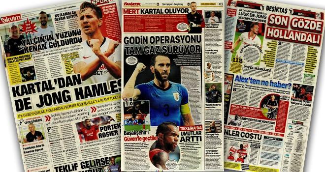 Beşiktaş manşetleri (28 Temmuz)
