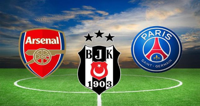 Beşiktaş'a PSG ve Arsenal'den dev teklif