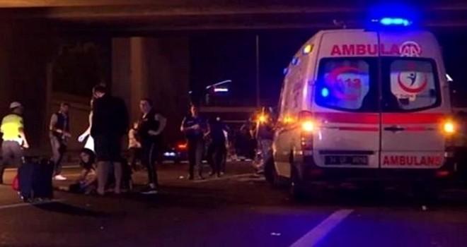 Beşiktaş'taki korkunç kazada şok karışıklık