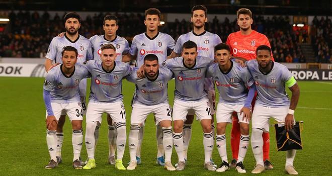 Beşiktaş, Avrupa defterini kapattı