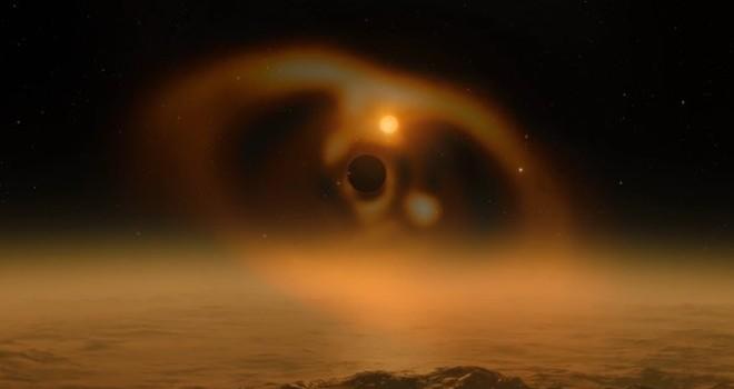Astronomlar yeni doğan gezegenin görüntülerini yakaladı